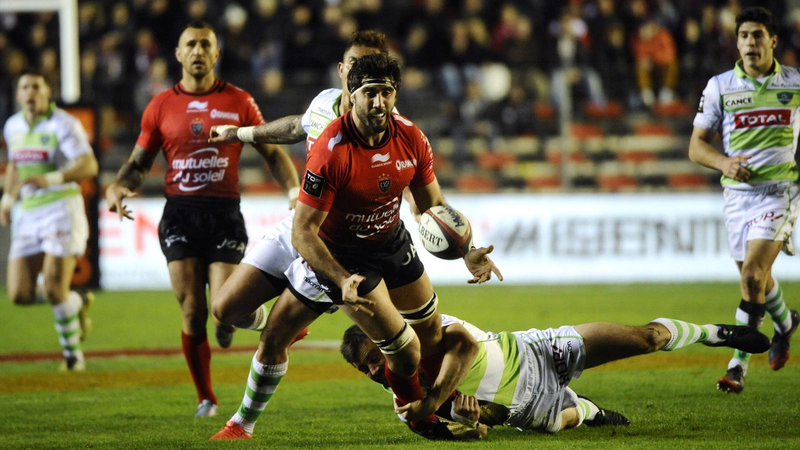 Juan Martin Fernandez Lobbe (Toulon) face à Pau - 3 janvier 2016
