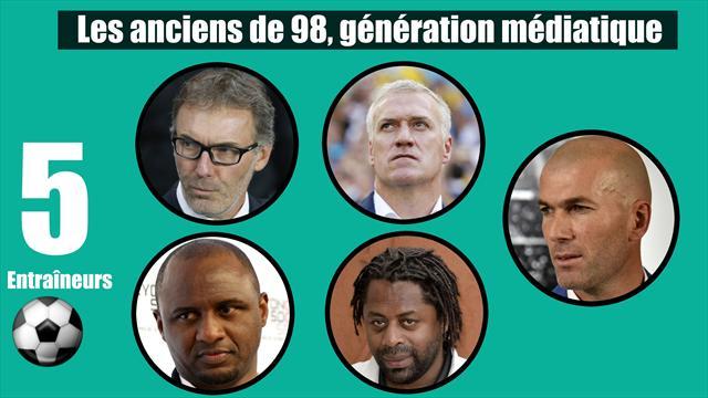 France 1998 : malgré Blanc, Deschamps et Zidane, le métier d'entraîneur n'attire pas les foules