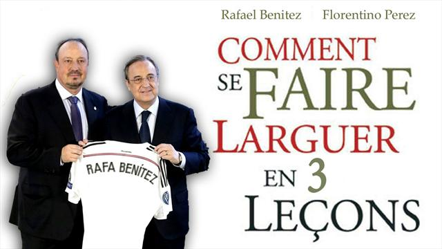 Les 3 ingrédients de l'échec de Benitez à la tête du Real Madrid
