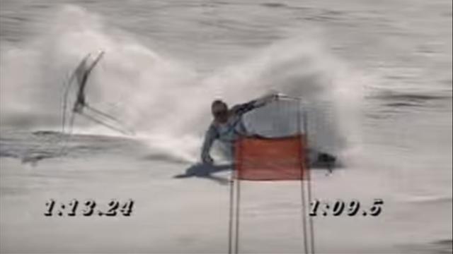 Il giorno in cui Alberto Tomba vinse l'oro mondiale in gigante cadendo