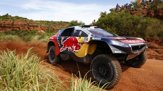 Une première victoire et la place de leader : Loeb démarre le Dakar sur les chapeaux de roue
