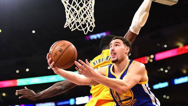 Thompson a pris feu, des Bulls en forme, un Williams clutch: ce qu'il faut retenir de la nuit NBA