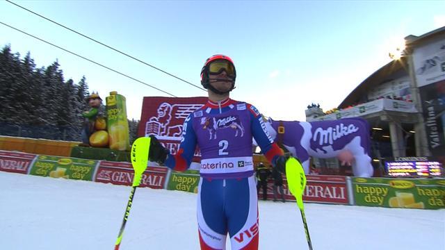 Khoroshilov n'a pas pu rééditer son exploit mais il est sur le podium