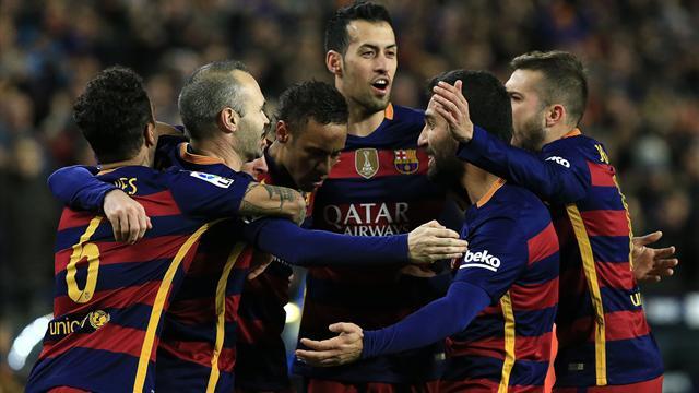 Le Barça a fait sa loi dans un derby chaud bouillant