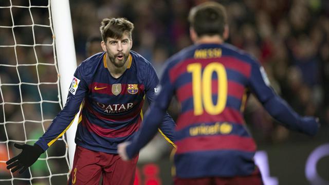 """Piqué ensalza a Messi antes del Clásico: """"Es el mejor de la historia"""""""