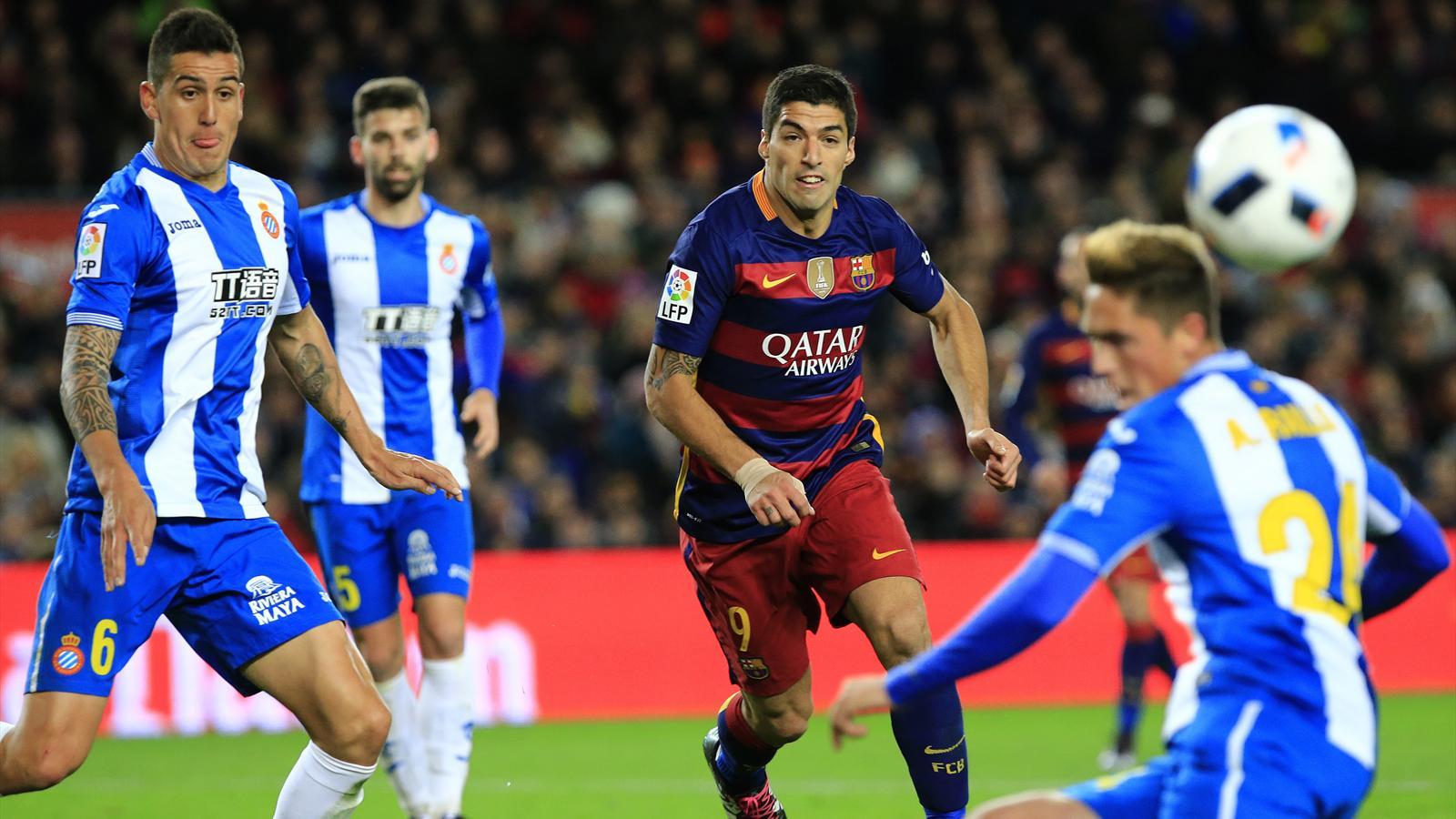 Espanyol – Barcelona, Luis Suarez