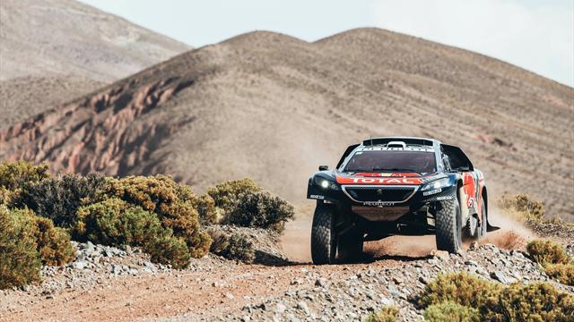 Avec quatre voitures dans le Top 5, Peugeot confirme son emprise sur le Dakar