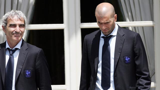 """Pour Domenech, Zidane est """"un mythe"""" mais pas """"un gentil mec"""""""