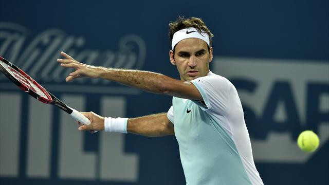 Federer déjà dans le rythme