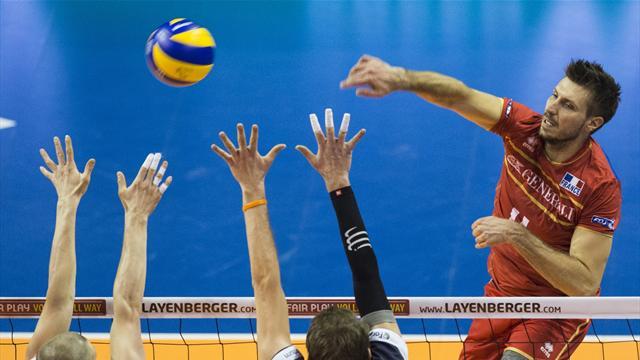 Vainqueur de la Finlande en trois petits sets, la France n'a pas traîné