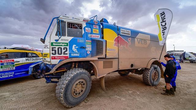 Экипаж Николаева выиграл пятый этап «Дакара» в зачете грузовиков