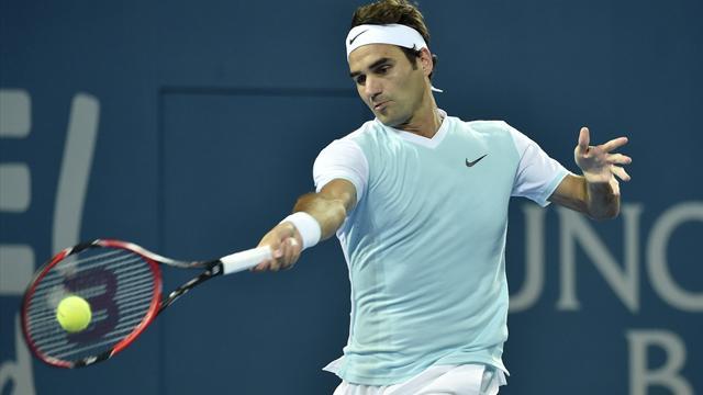 Federer a un peu traîné contre Dimitrov mais il est bien en demi-finale