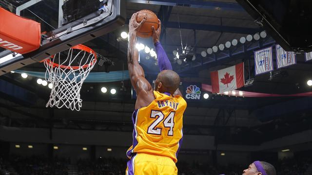 Vidéo - Rondo au dunk, Kobe aérien et le collectif de Philadelphie... Voici le top 10 de la nuit