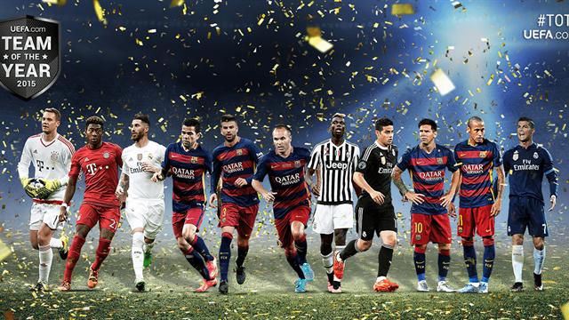 Pogba retenu, Messi plébiscité, le PSG oublié : ce qu'il faut retenir du onze de l'année UEFA