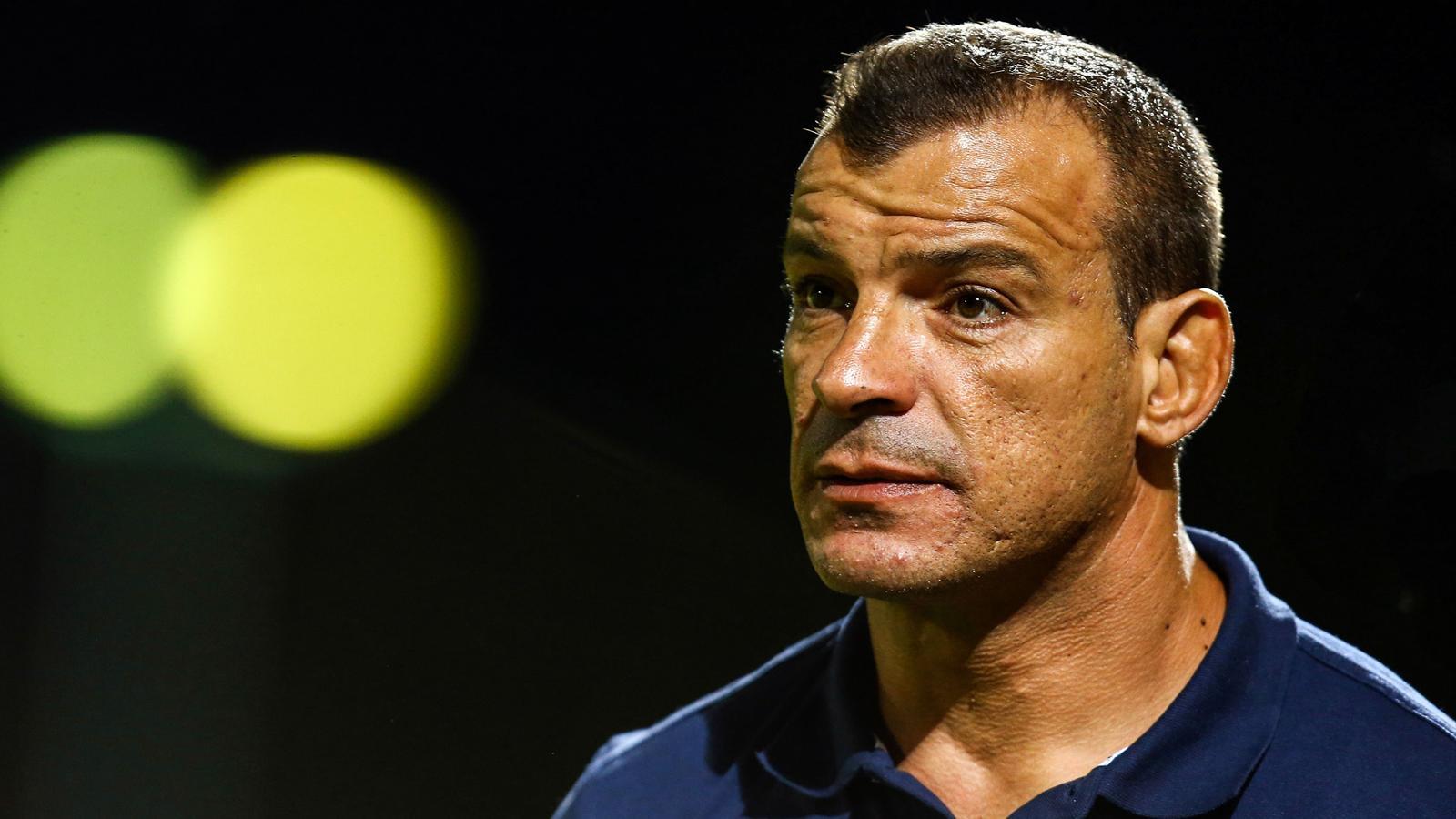 Bernard Goutta, l'entraîneur de Colomiers - septembre 2015