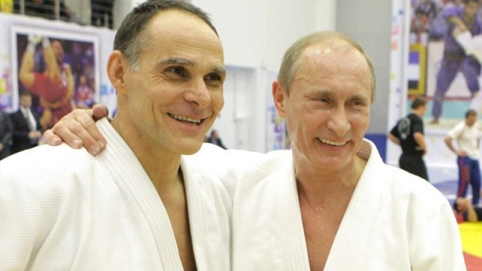 Энцио Гамба с Владимиром Путиным