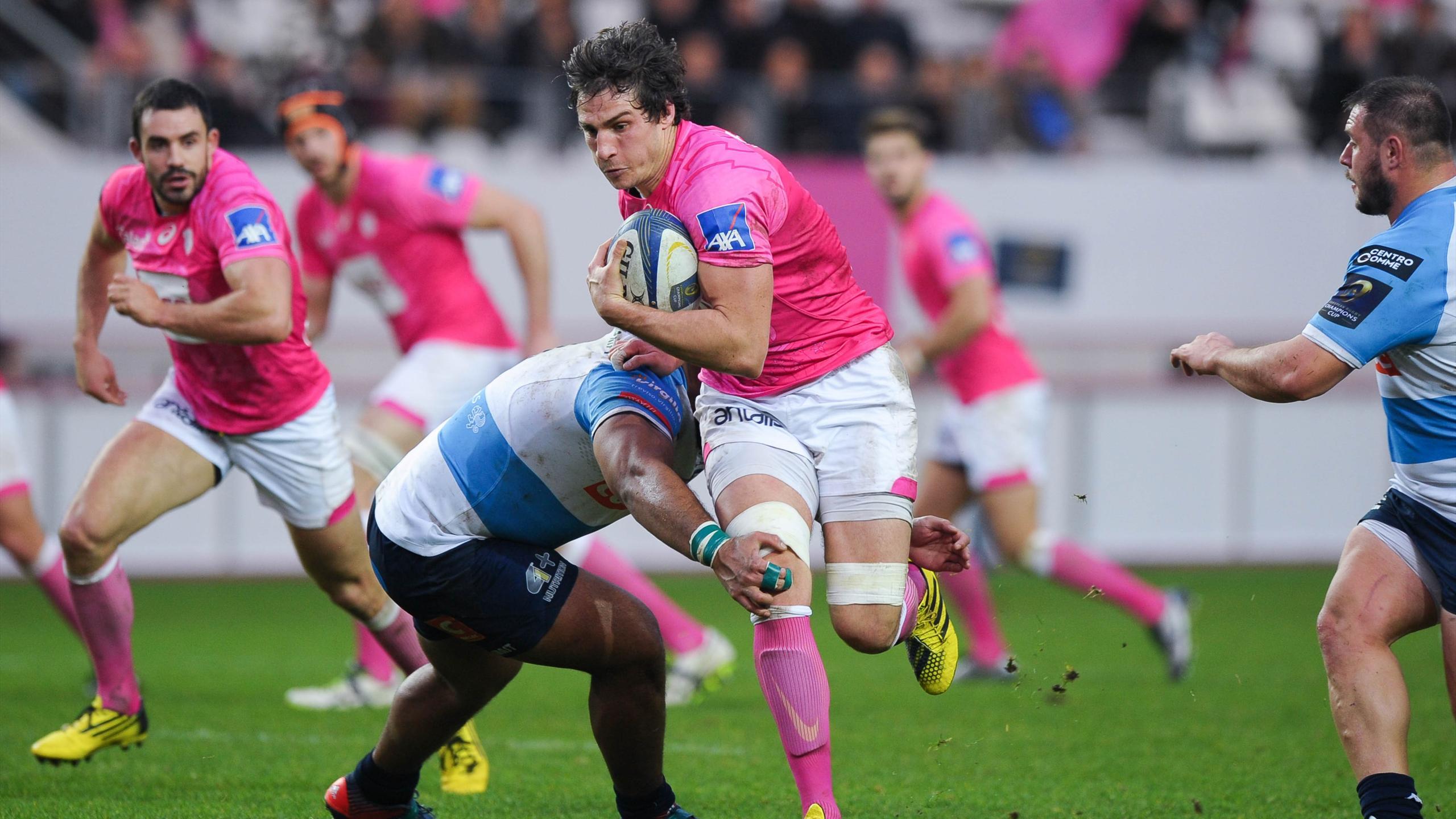 Sylvain Nicolas (Stade français) face à Trevise - Décembre 2015
