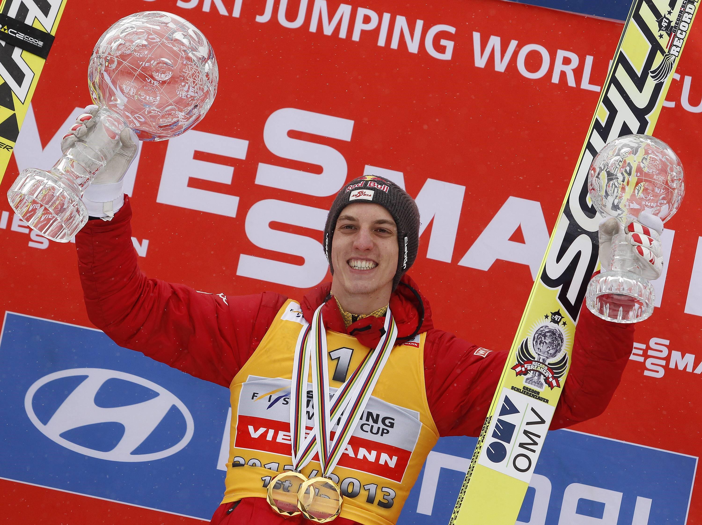 Грегор Шлиренцауэр в сезоне 2012/13