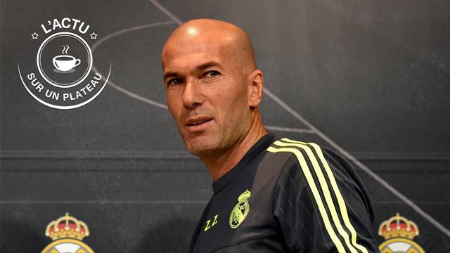PSG, Djokovic-Nadal, OL, Zidane : l'actu sur un plateau