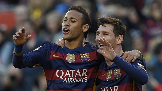 Une forme de Ballon d'Or : Messi s'offre un triplé et met le Barça sur le trône