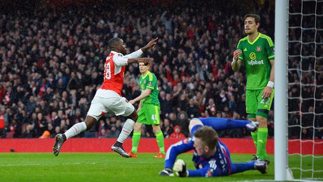 Arsenal a attendu le dernier quart d'heure pour passer, Manchester United le temps additionnel