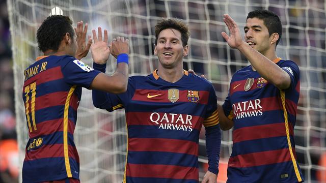 «Барселона» забила «Валенсии» сотый гол в сезоне