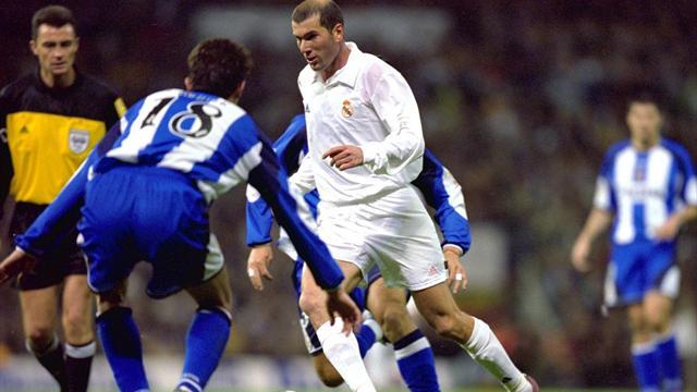 У ретро. Шикарный гол Зидана и еще 4 лучших момента «Реала» в матчах с «Депортиво»
