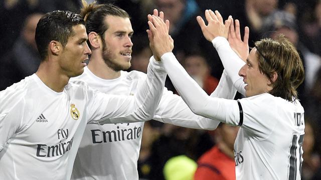 Modric renueva su contrato con el Real Madrid hasta 2020