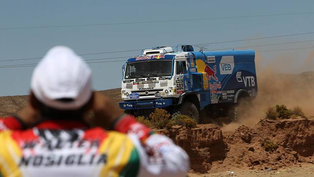Экипаж Николаева выиграл седьмой этап «Дакара», Мардеев стал вторым