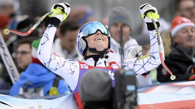 Deux victoires en deux jours, Vonn a survolé ce week-end autrichien