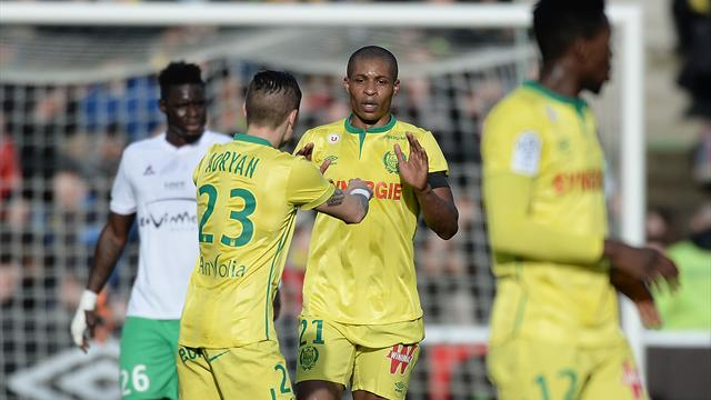 Renversés par Nantes, les Verts peuvent repartir frustrés