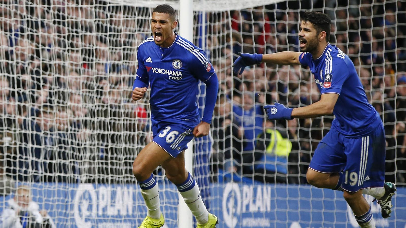 Ruben Loftus Cheek Scores First Chelsea Goal In Third Round Win Over Scunthorpe