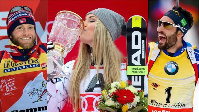 Après-Ski: Vonn, Fourcade et Sundby : les patrons vous saluent bien