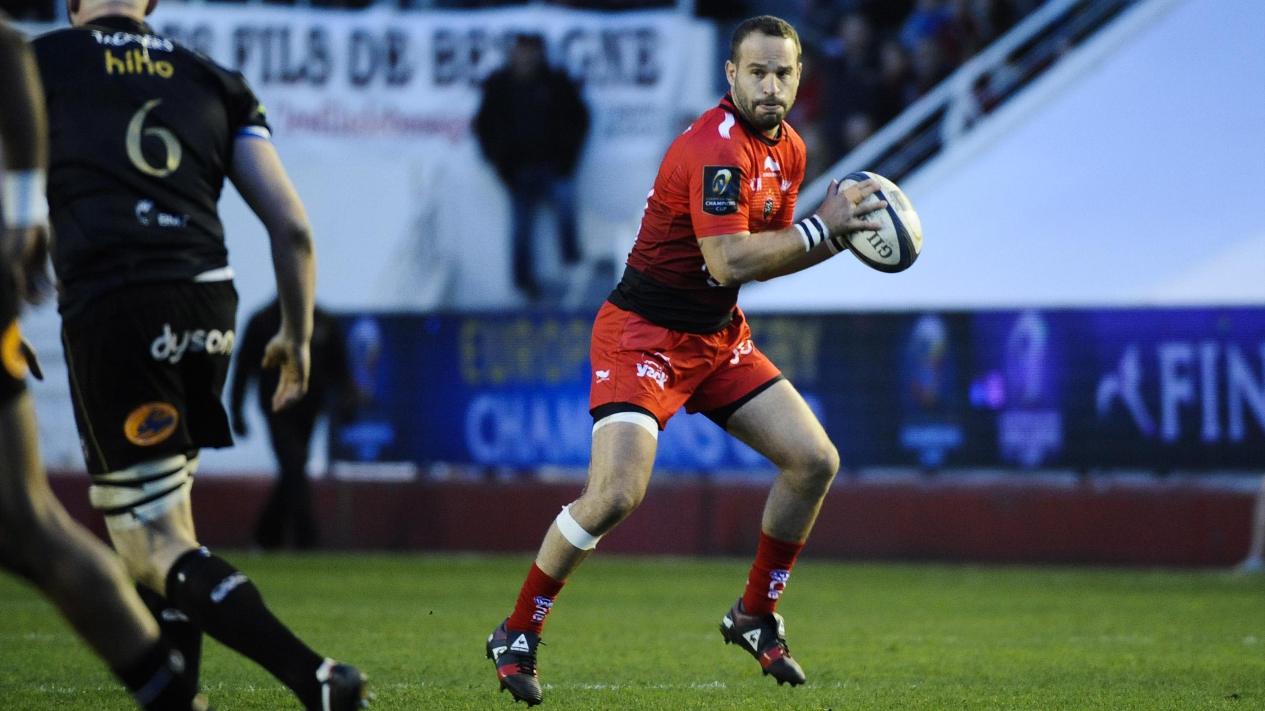 Frédéric Michalak (Toulon) face à Bath - 10 janvier 2016