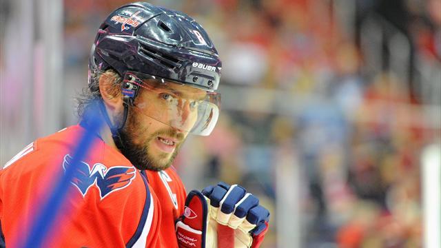 Овечкин забросил 500-ю шайбу в НХЛ