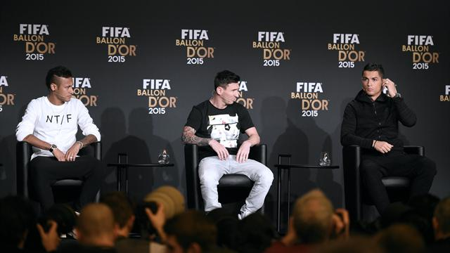 Best of the press conference: Ronaldo reveals what he would like to take from Messi
