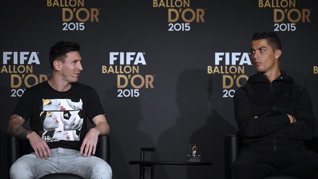 """Messi aime """"les qualités"""" de Ronaldo, CR7 rêve du pied gauche de l'Argentin"""