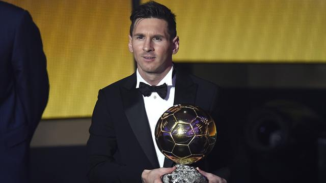 Месси выиграл «Золотой мяч»