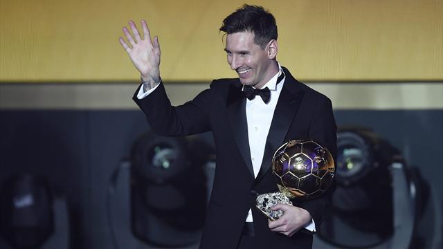 Messi gana su quinto Balón de Oro y Cristiano supera ampliamente a Neymar