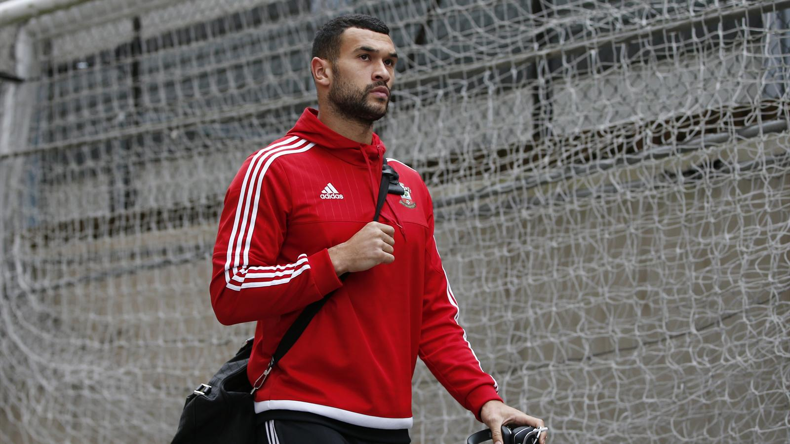 Southampton's Steven Caulker arrives before the match