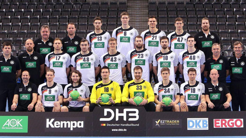 handball em deutschland kader