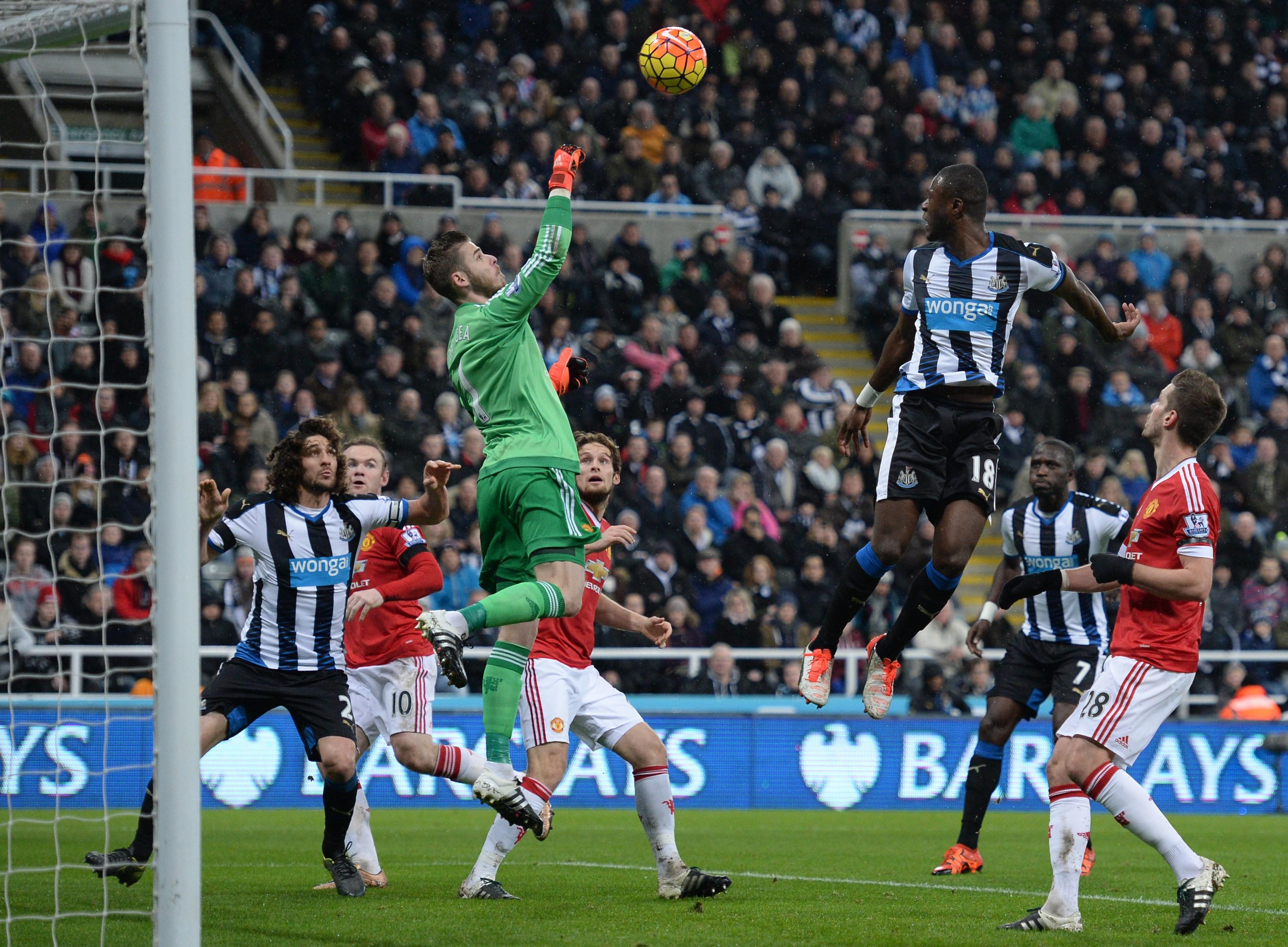 Newcastle United gegen Manchester United