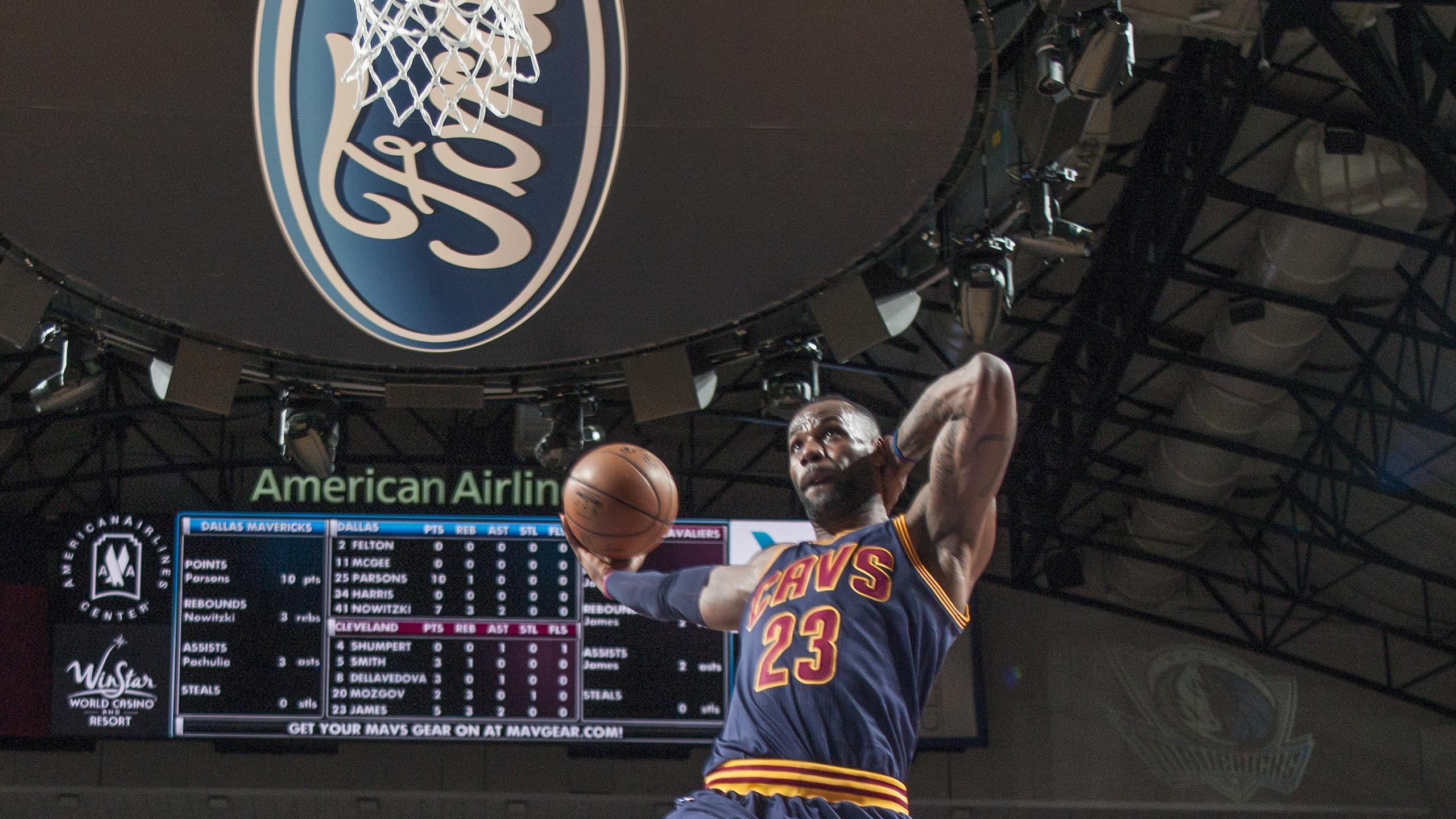 LeBron James - Cleveland - Dallas en NBA le 12 janvier 2016