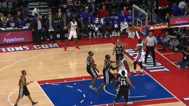 Pistons déchaînés et LeBron en liberté : Voici le top 10 de la nuit