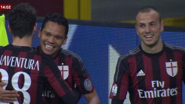 Coupe d'iltalie : Les meilleurs moments de AC Milan - Carpi