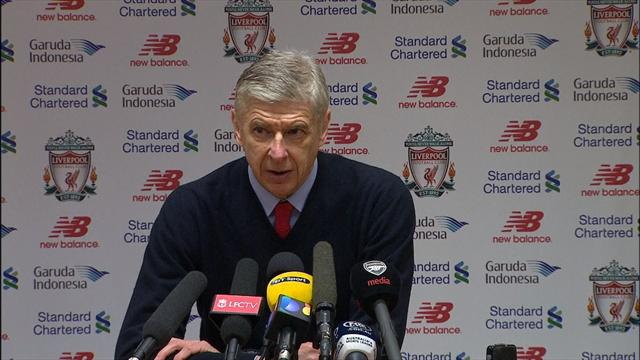 """Wenger : """"La frustration est importante"""""""
