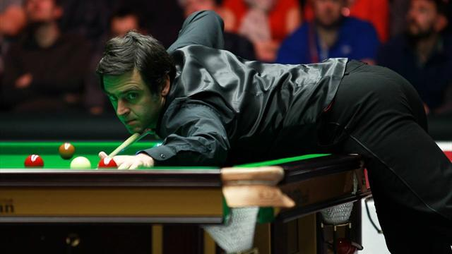 O'Sullivan masters Selby, Hawkins thrashes Allen to make semi-finals