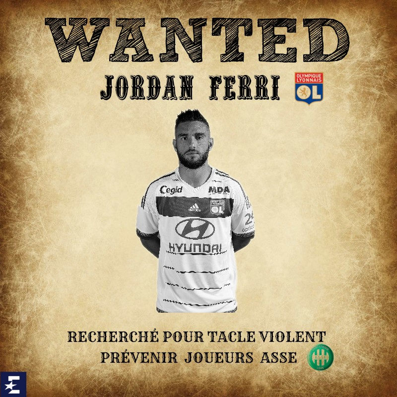 Wanted Jordan Ferri ASSE-OL