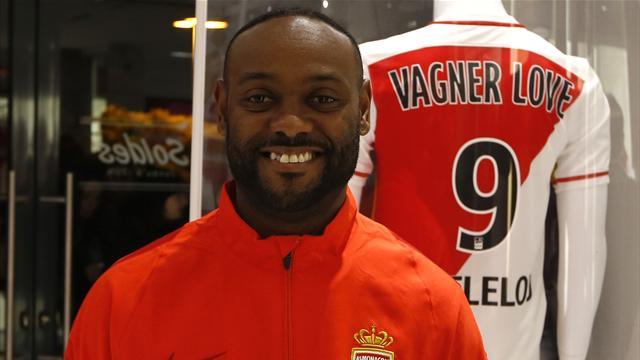 Vagner Love veut revenir en Seleçao grâce à Monaco