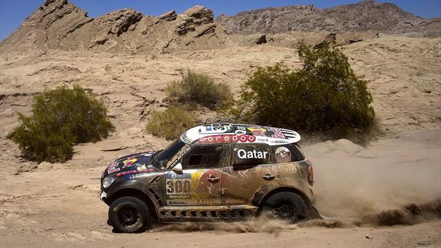 Al-Attiyah gana la primera etapa, Carlos Sainz fue cuarto a 33 segundos